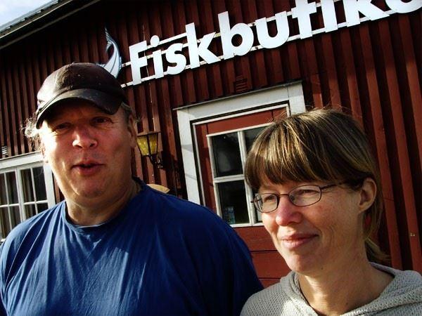 Fiskbutiken i Mellanfjärden