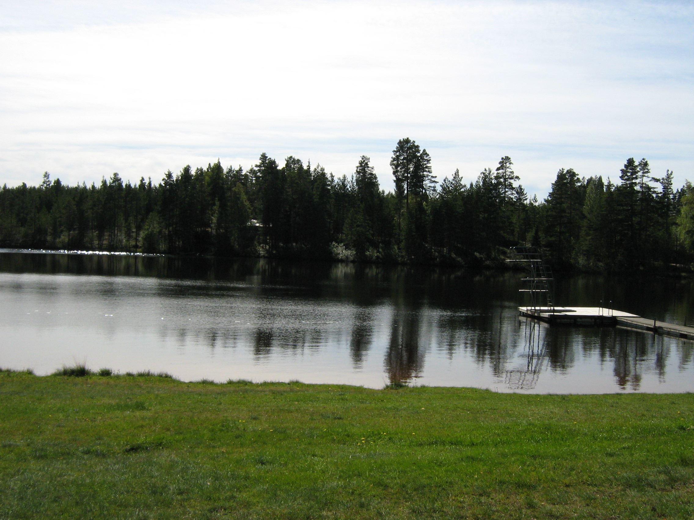 Annika Johansson, Glatjärns bathing area.