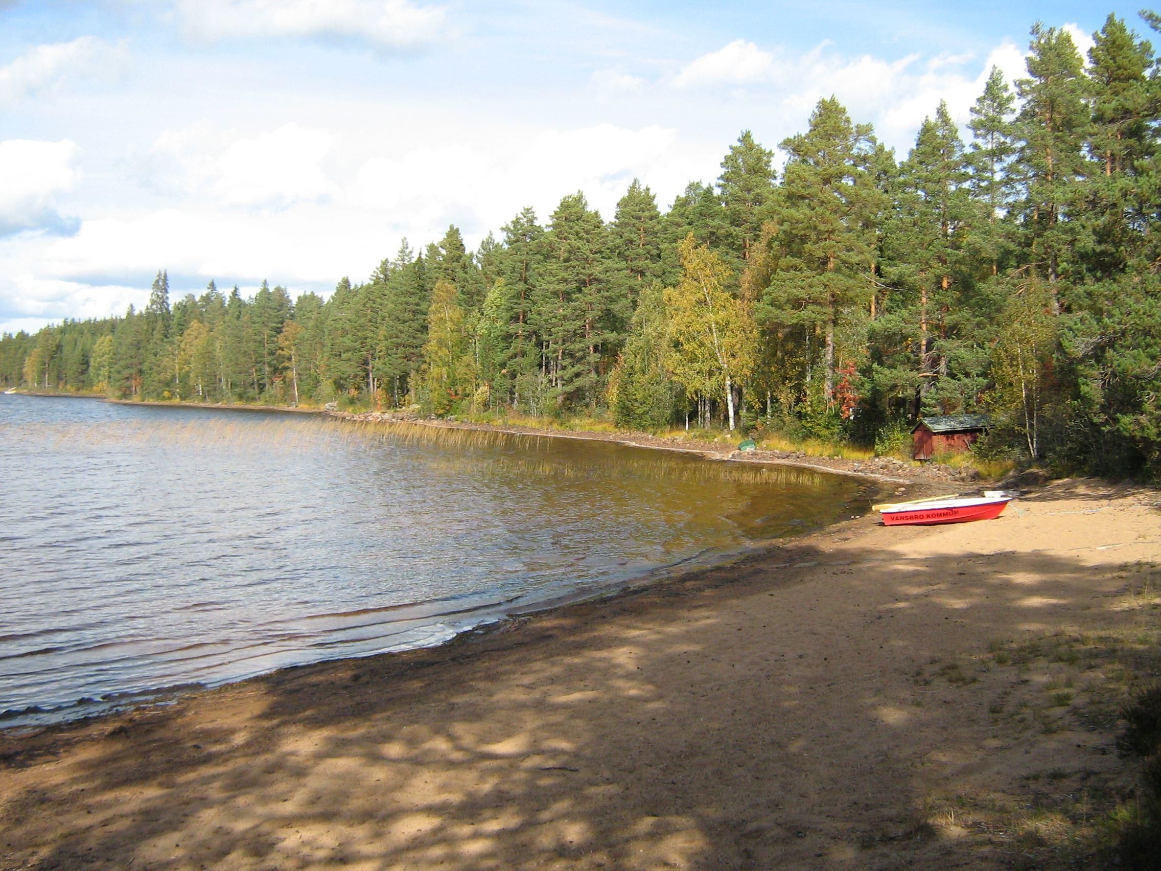 Ticknäsvikens badplats