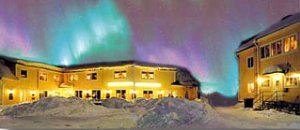 Yellow House Hotell and SVIF Hostel in Kiruna