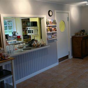 Klåveröds vandrarhem & café i Kågeröd
