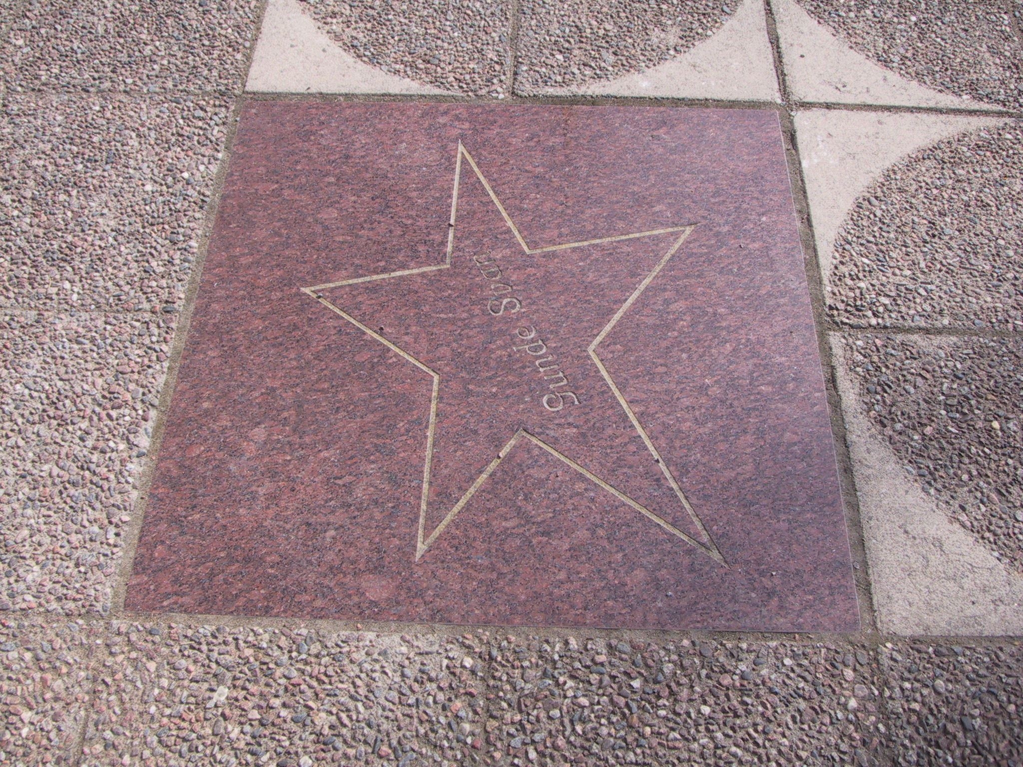 "Vansbro ""Walk of fame"""