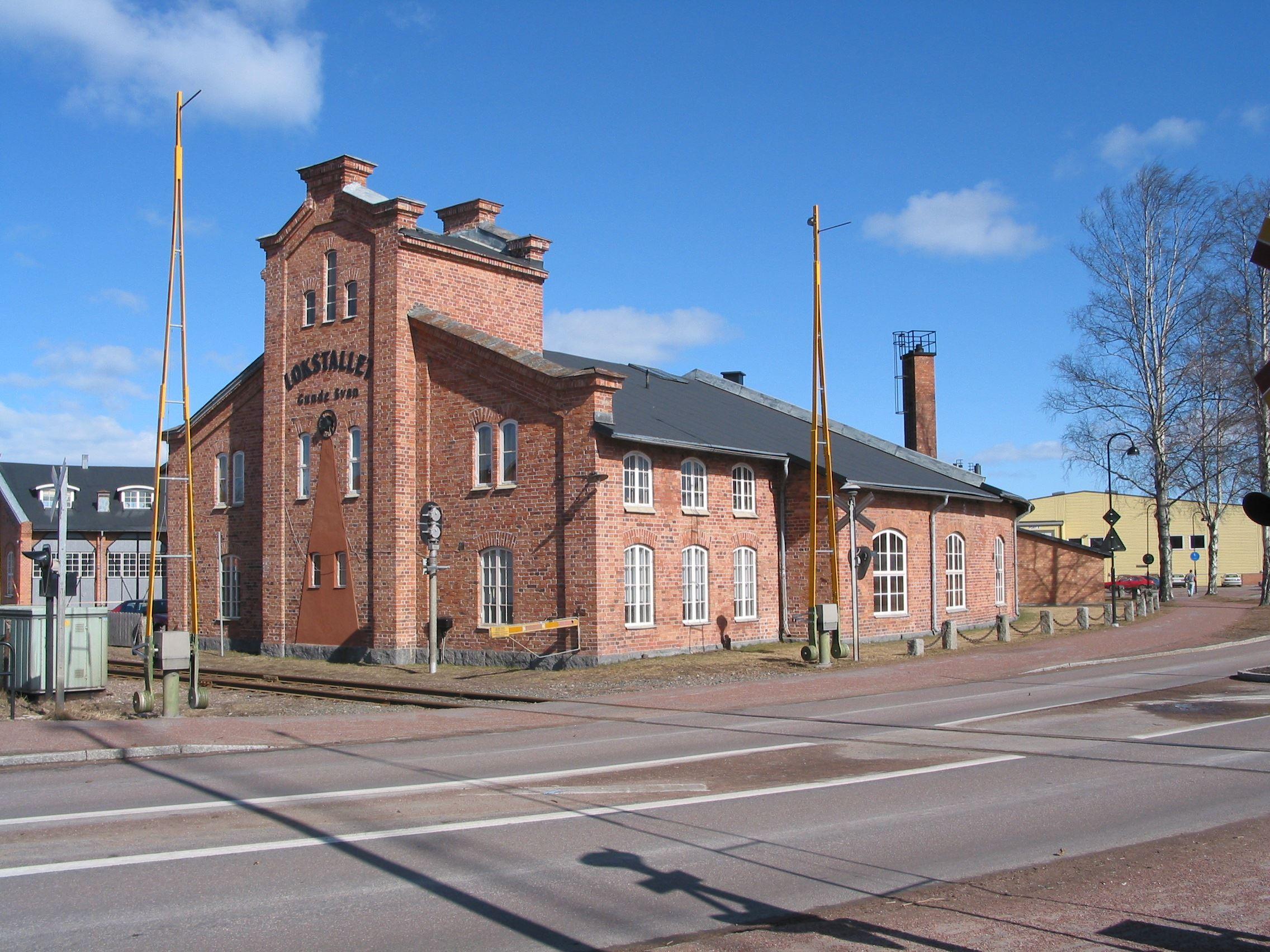 Lokstallet in Vansbro