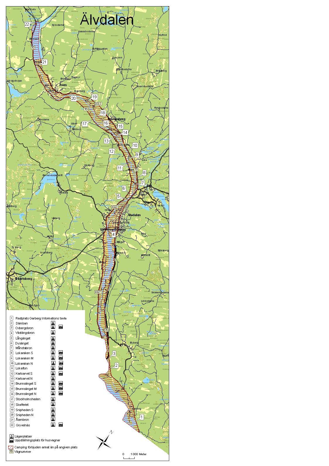 Naturcamping i Älvdalen