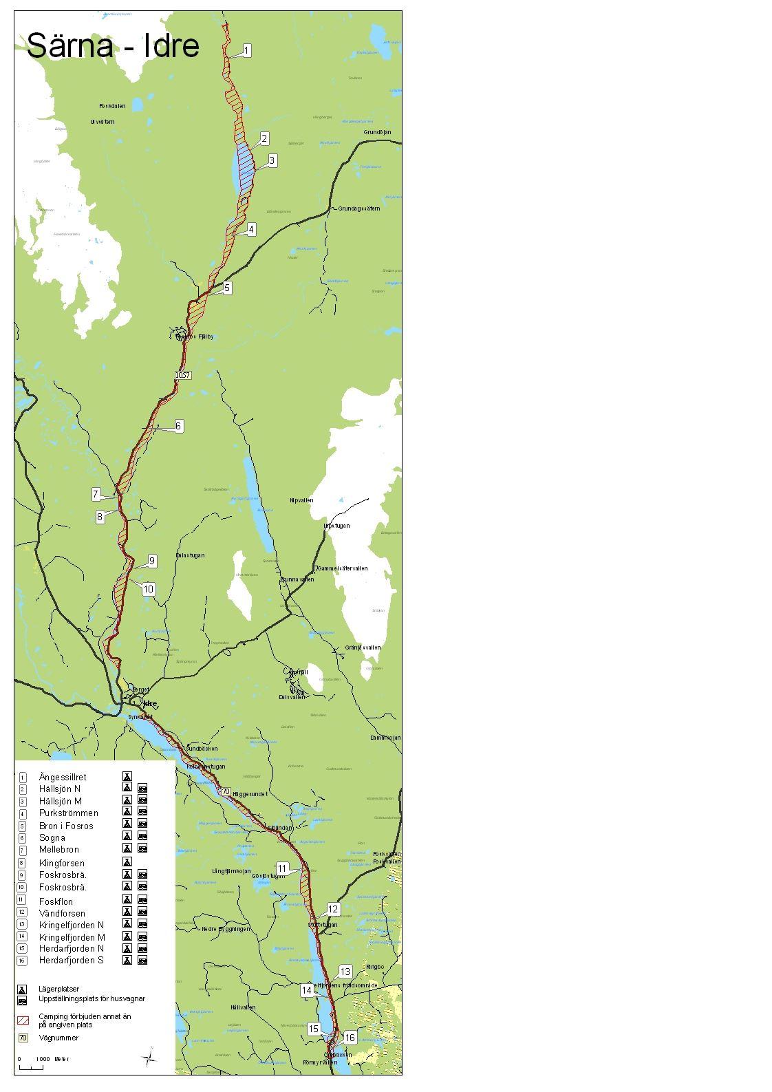 Naturcamping Särna - Idre & Foskros