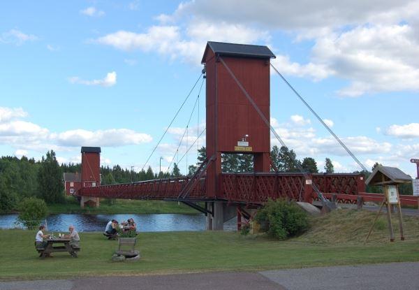 Gagnefs Turistbyrå, Kyrkbron i Dala-Floda