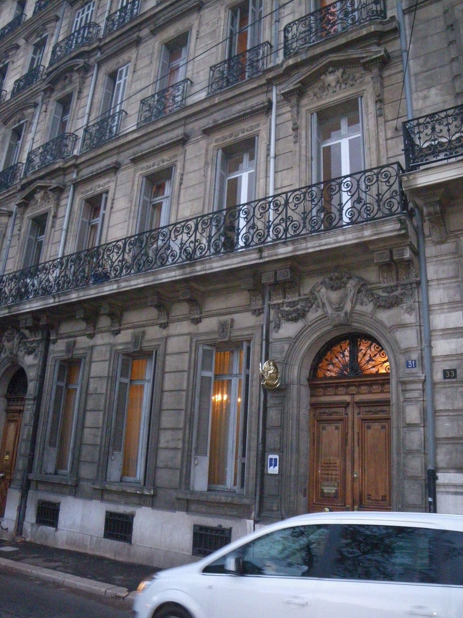 Les Hôtels particuliers des XVIIIe et XIXe siècles