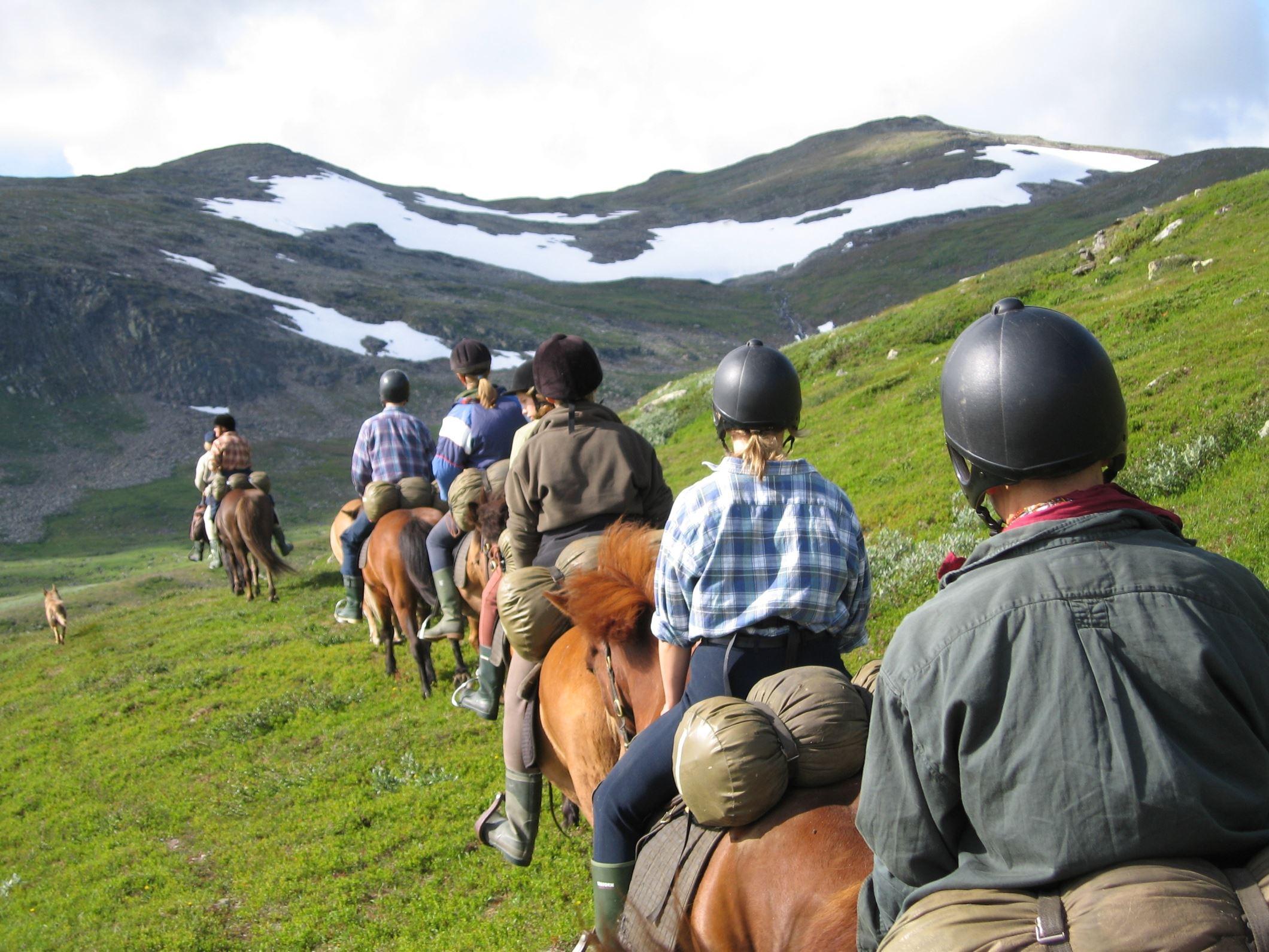 Fjällhästen (Horseback riding)