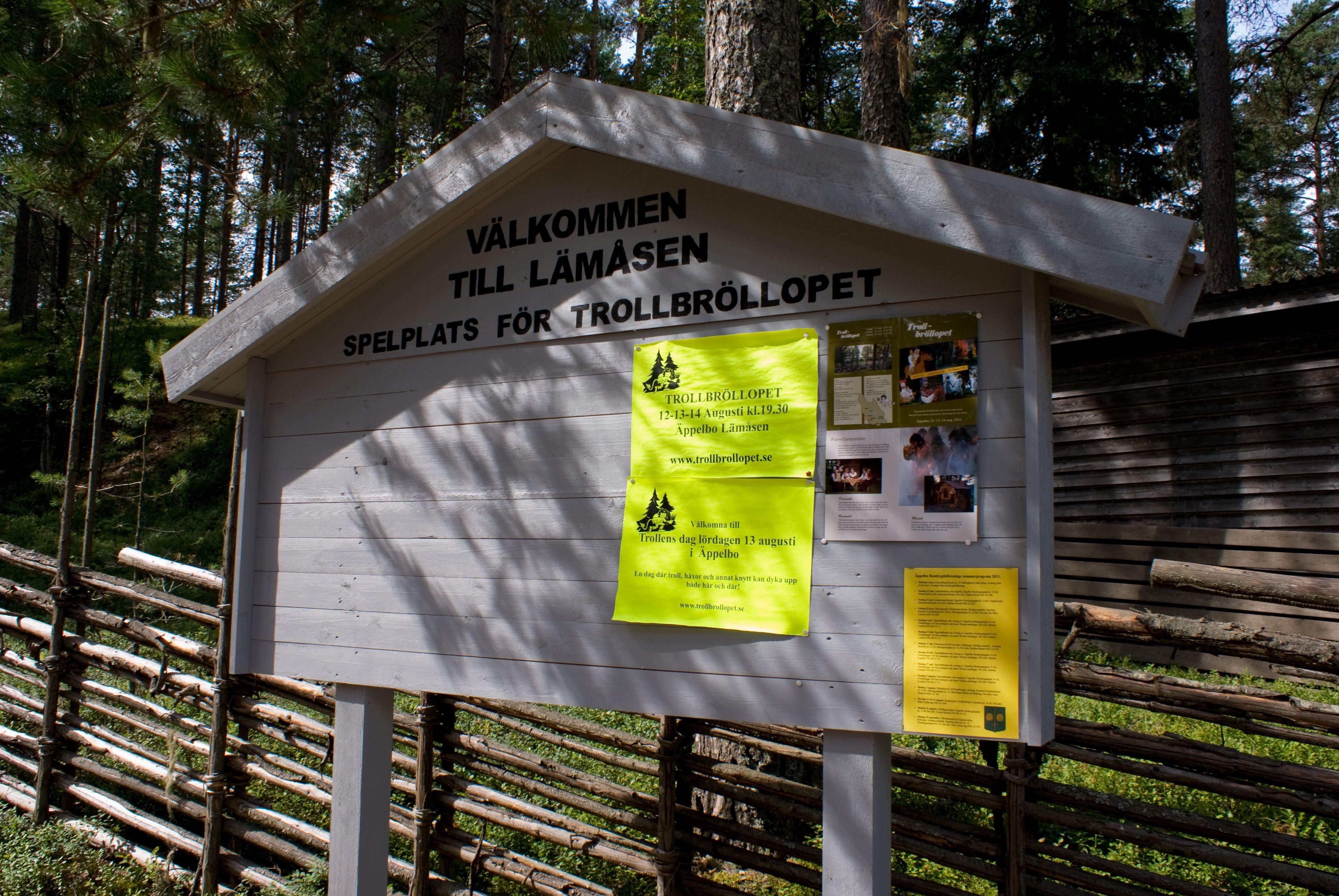 Sofia Bjurström, På Lämåsen spelas Trollbröllopet