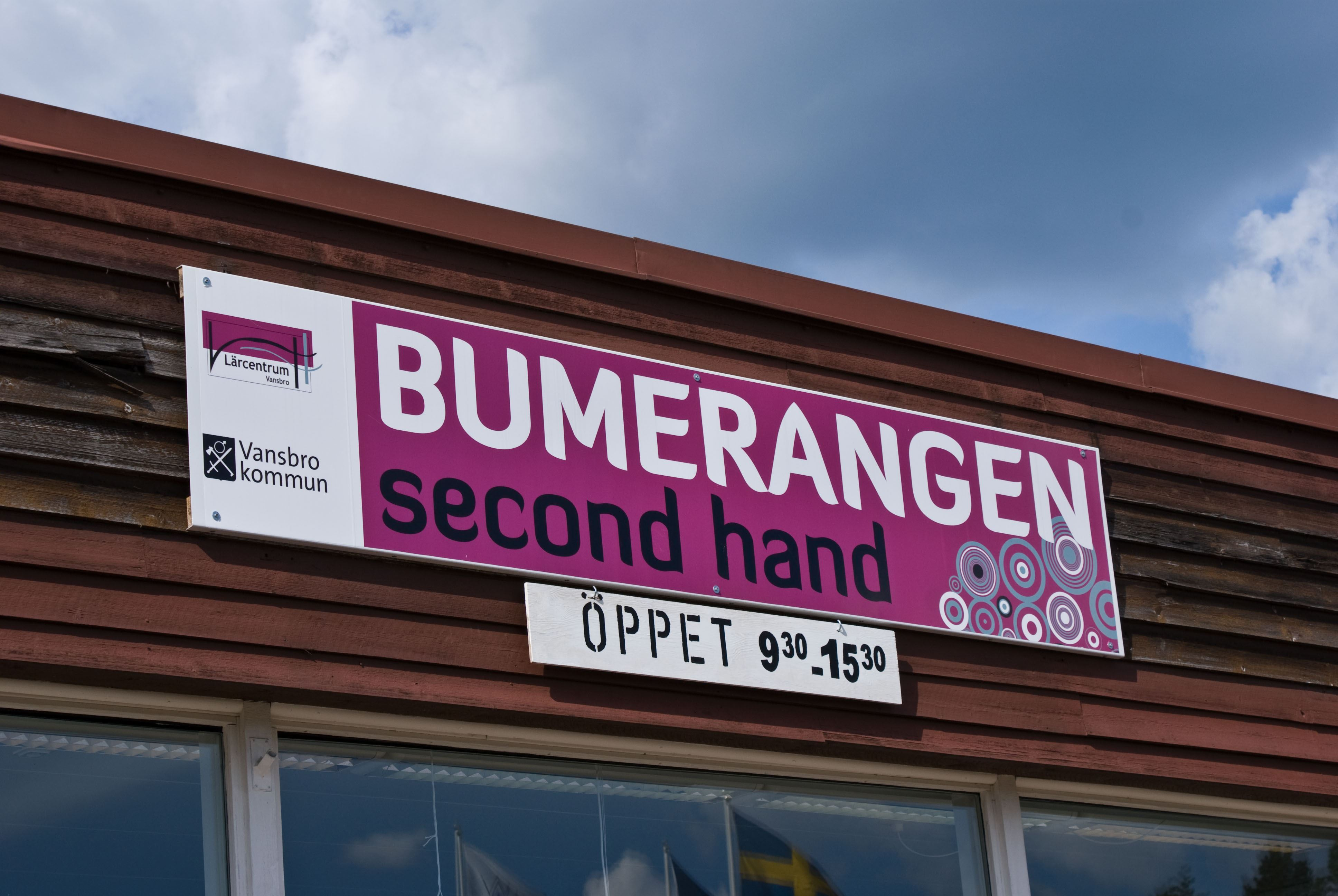 Bumerangen secondhand