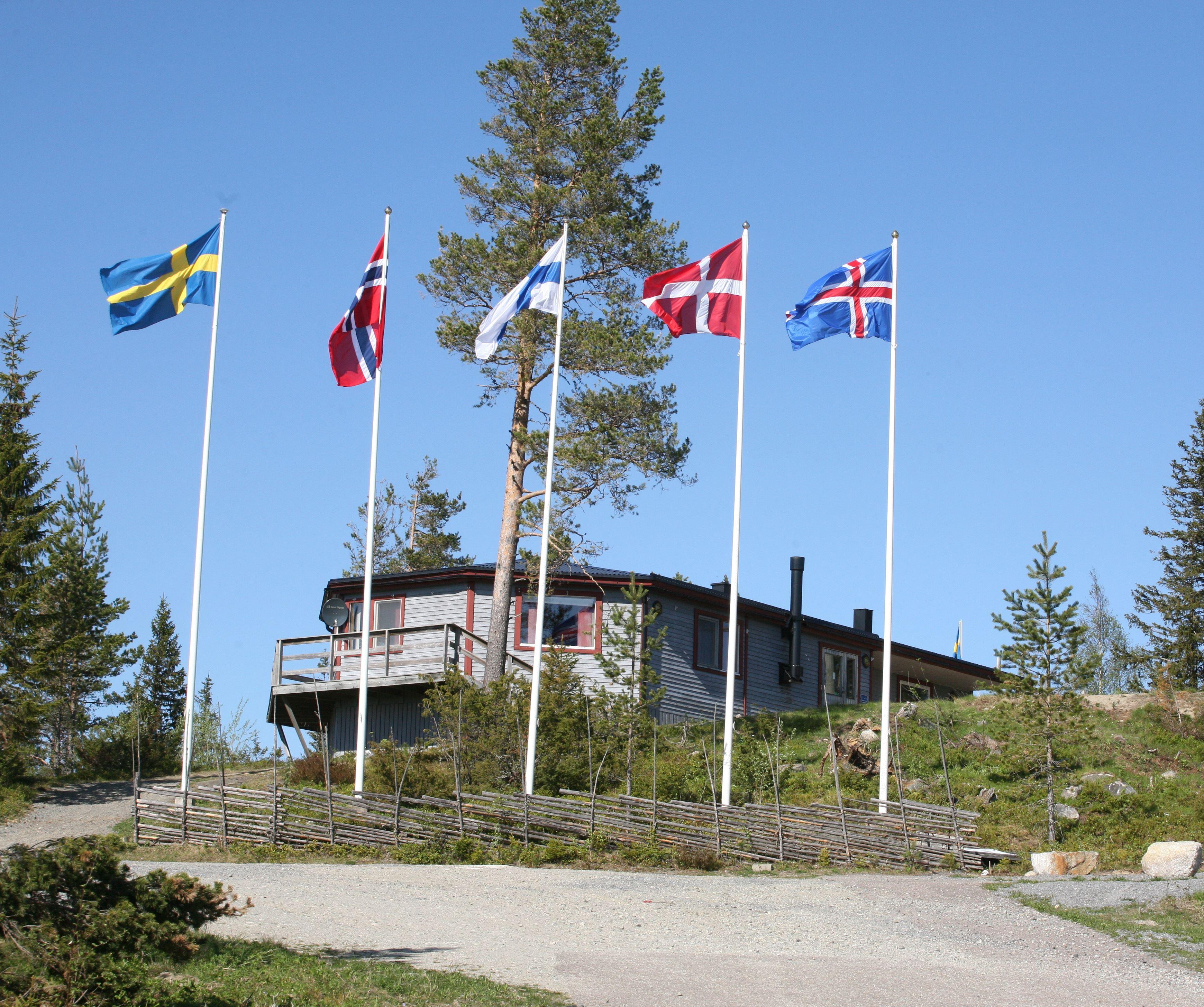 Café - Sveriges geografiska mittpunkt