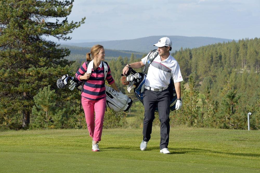 Spela golf med PGA Pro