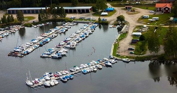 Sandarne Båtklubb ställplatser