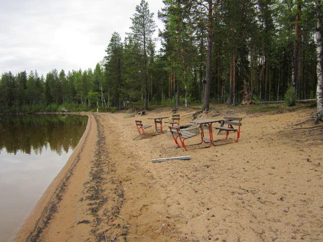 Kerstin Andersson,  © Malå kommun, Släppträsk badplats