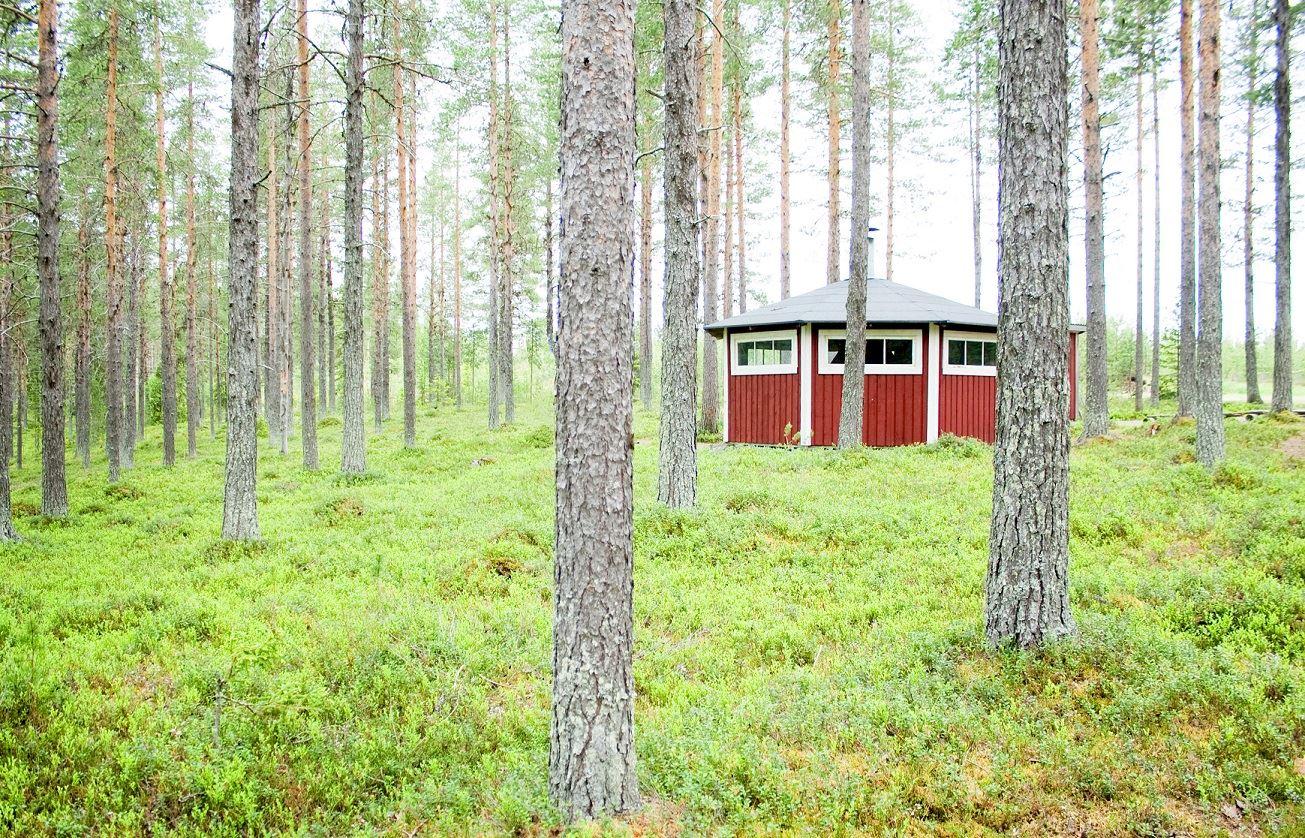 Malin Hedman,  © Malå kommun, Stentjärn värmestuga