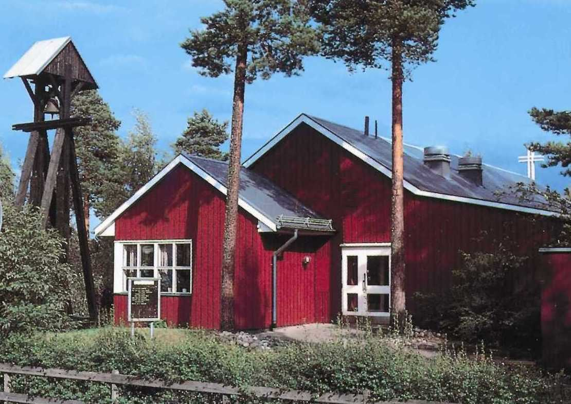 Björkberg Church in Hudiksvall