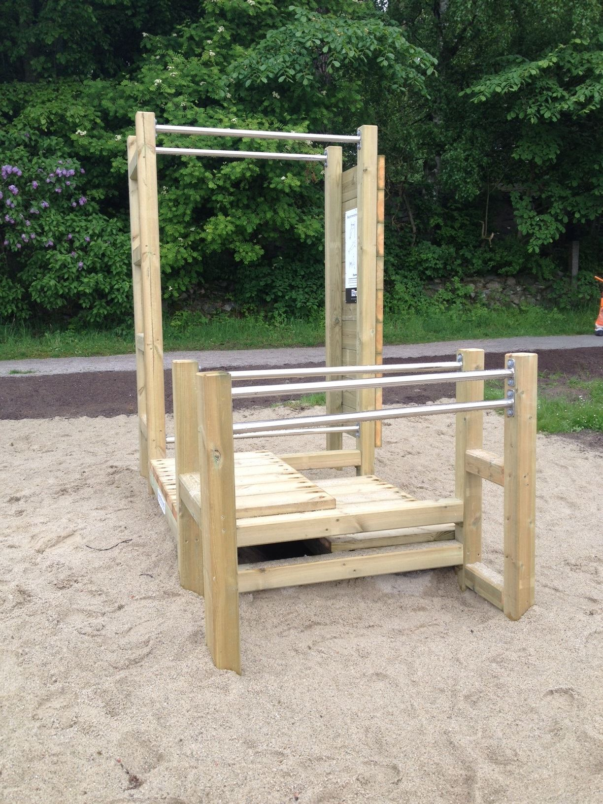 Outdoor gym at Strandängen