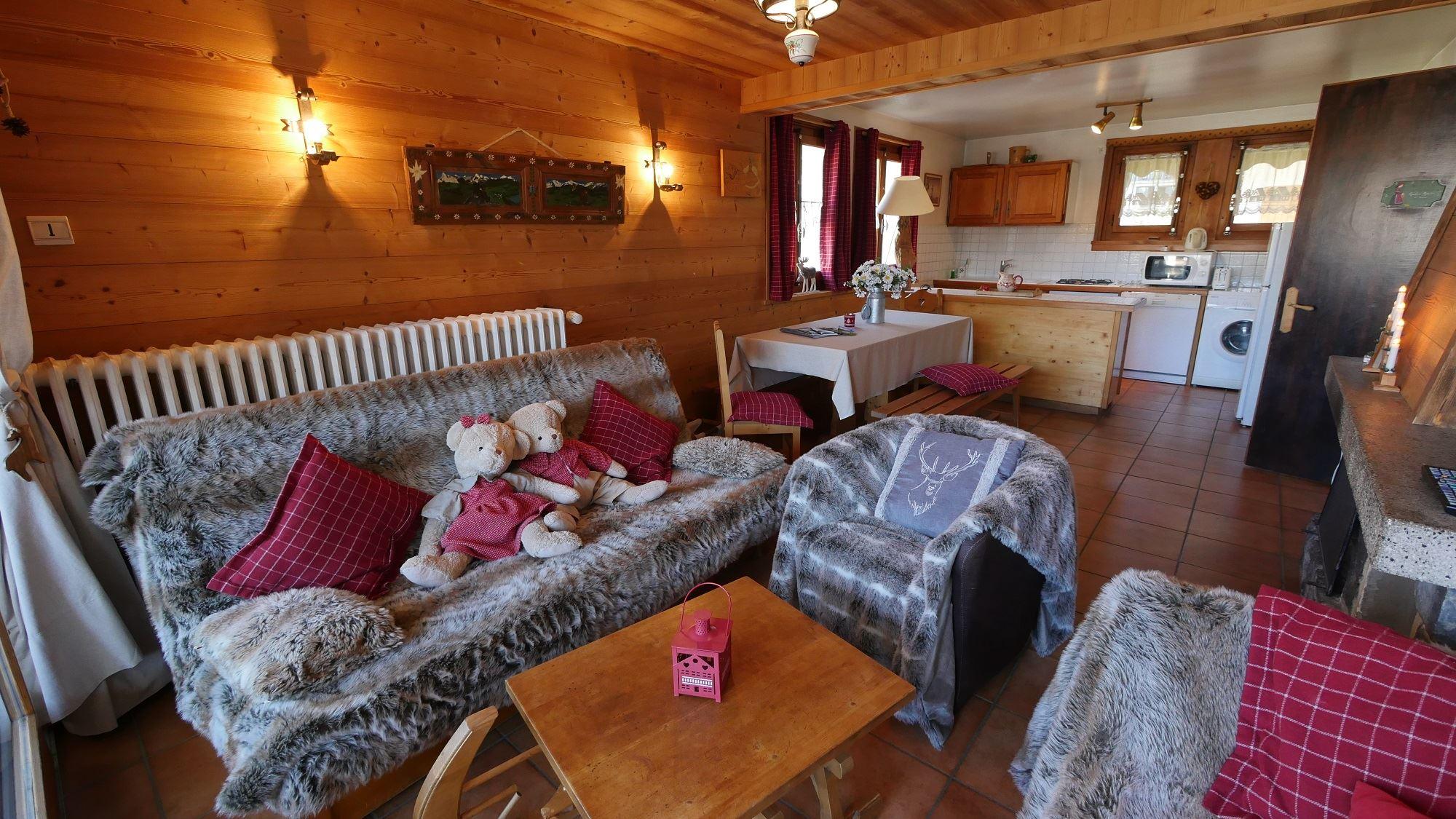 Ski Love (Mont Chéry) - 4 rooms - 6 people - 100m²