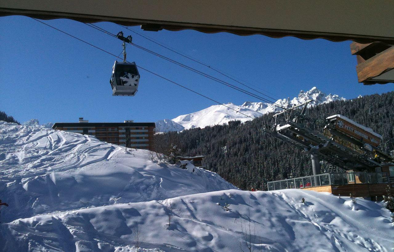 Studio 3 personnes skis aux pieds / LES GRANDES BOSSES 304 (montagne de charme)