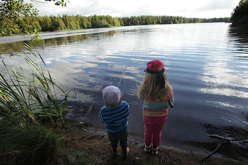 © Bokinge bild, Fisketävling i Fängen och Sandsjön