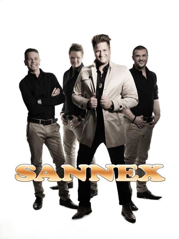 "Pressbilder http://sannex.nu/, 2014 vann Sannex en guldklav som ""årets dansband"""