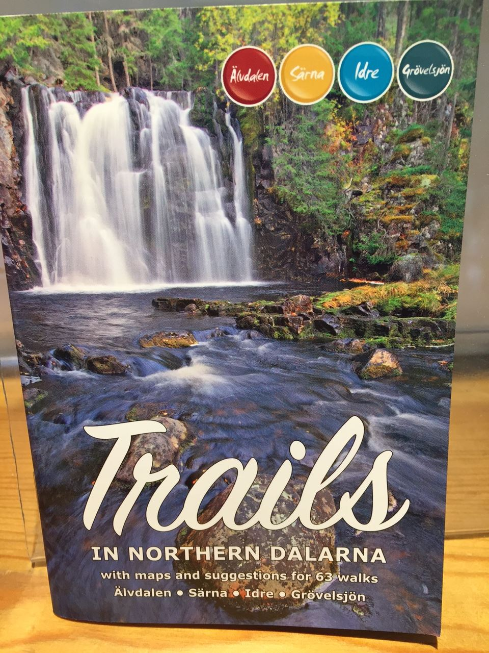 Trails - In northern Dalarna (English)