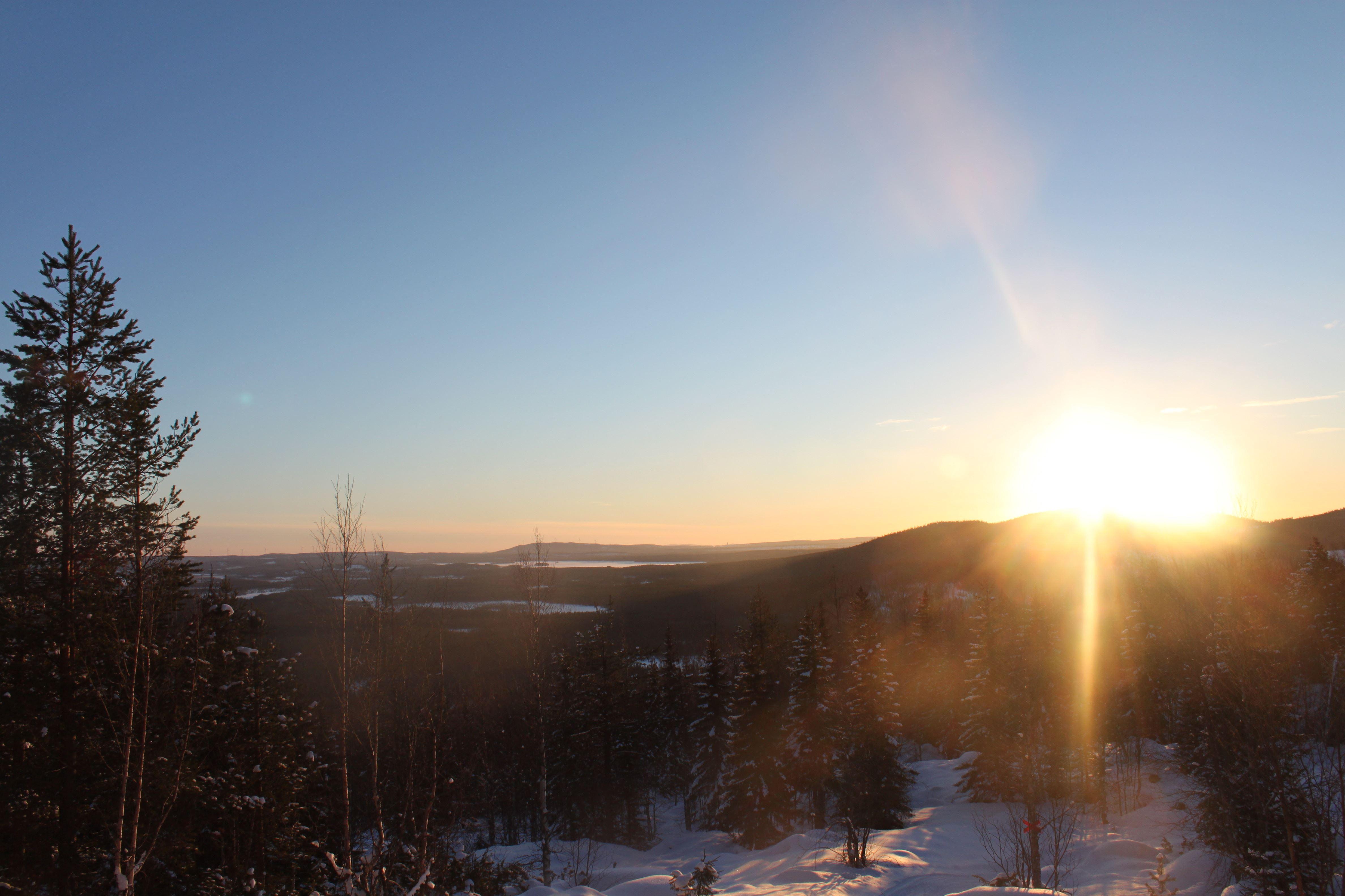 © Malå kommun, Utsikt från Fnöskberget