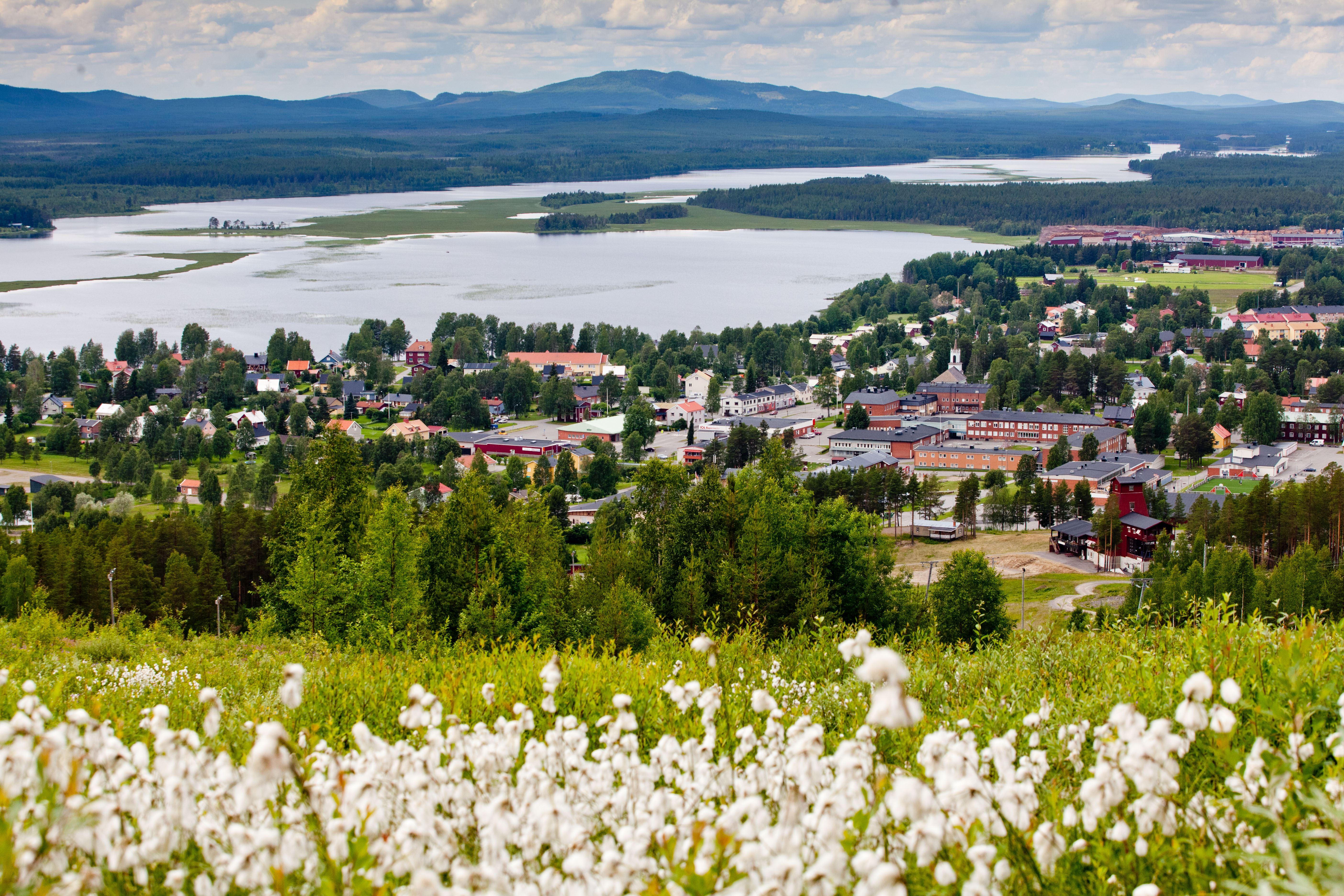 www.ricke.se,  © Malå kommun, Tjamstanberget