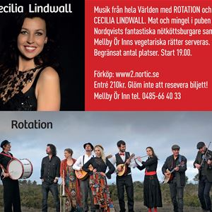 Rotation och Cecilia Lindwall