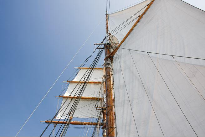Sailing on Schooner Vega in Tjust Archipelago