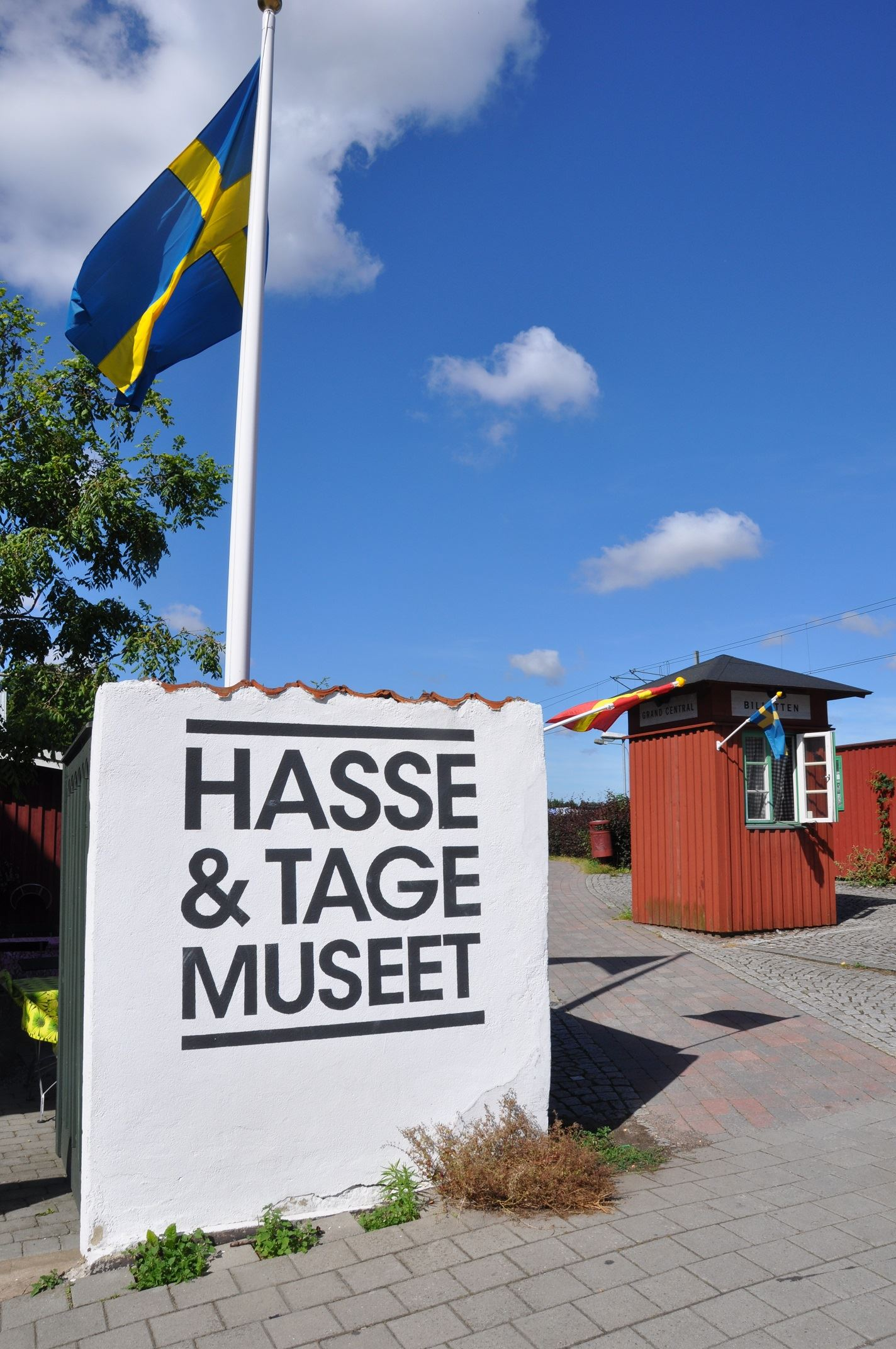Foto: Elin Andersson, Hasse & Tage-museet