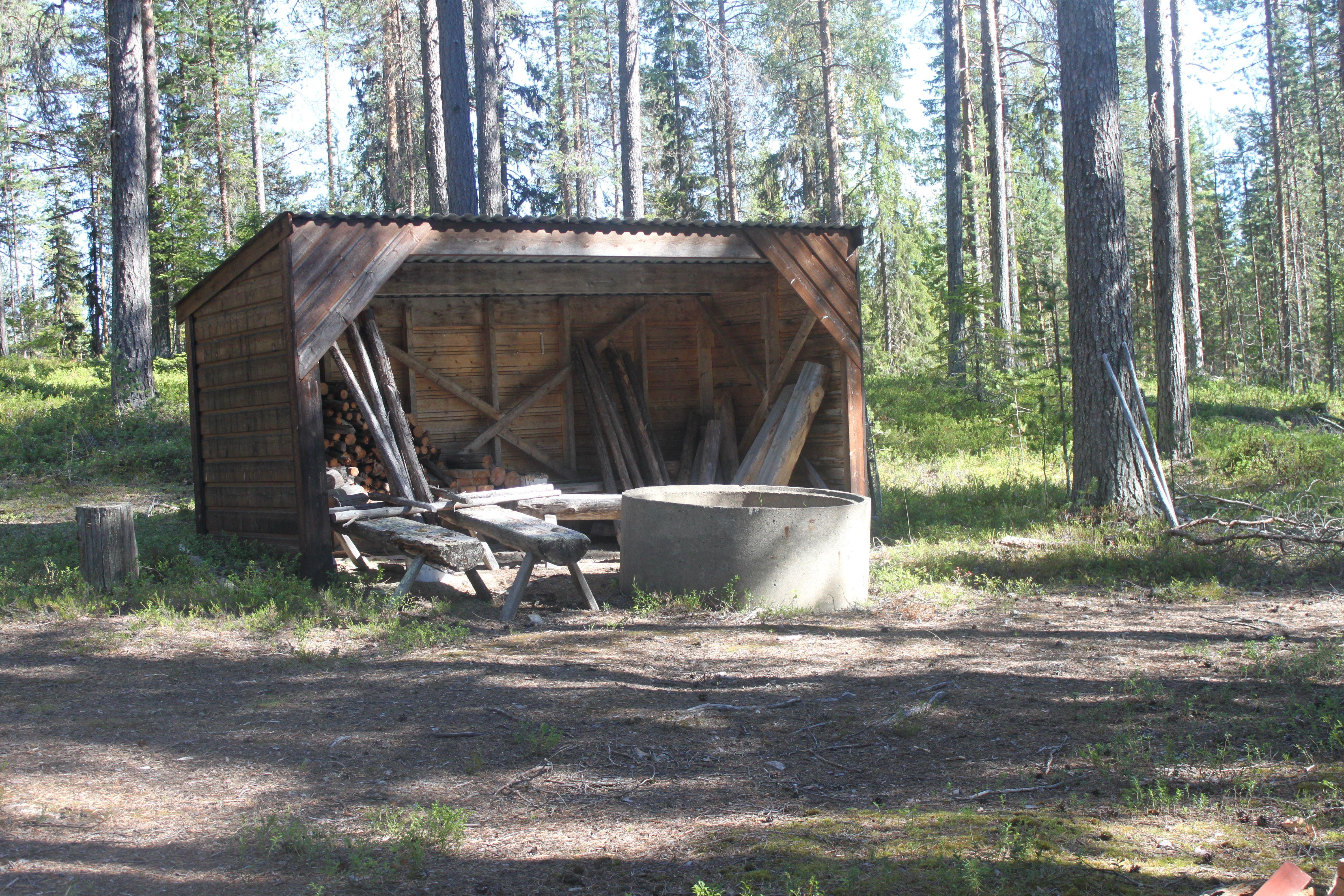 © Malå kommun, Kvarnbäcken Sandfors grillplats