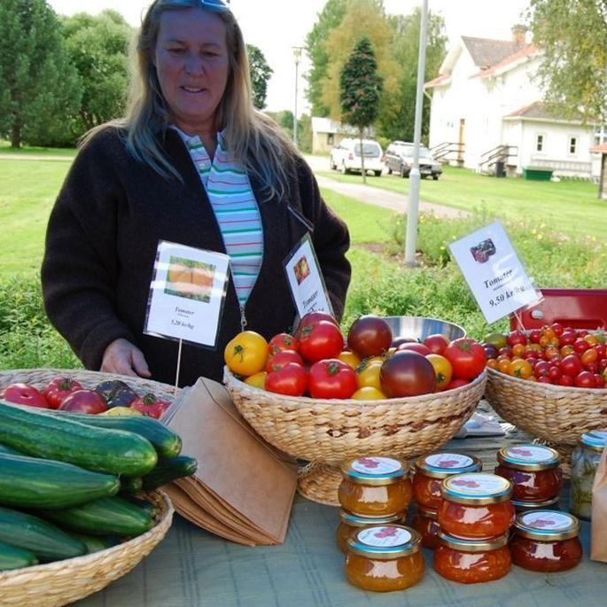 Harvest market with soup festival