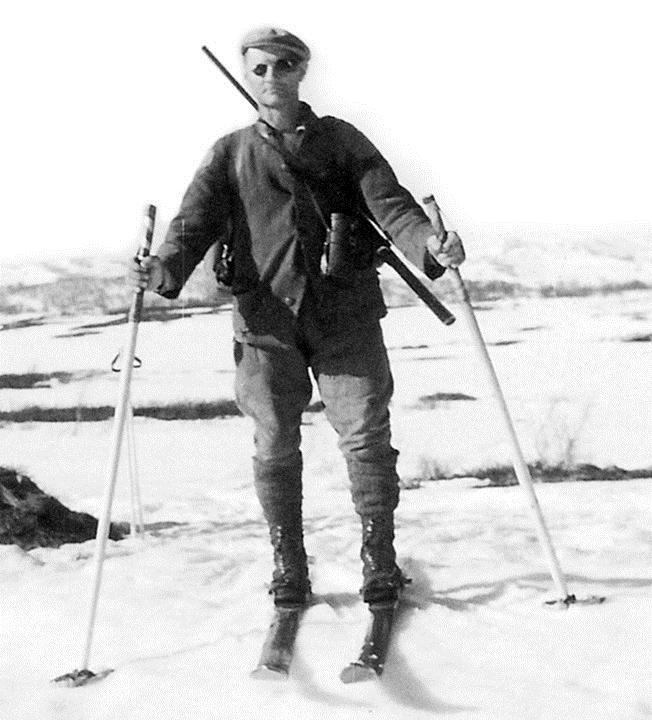 Bildföredrag om Vargjägaren Enocksson på Edsbyns Museum