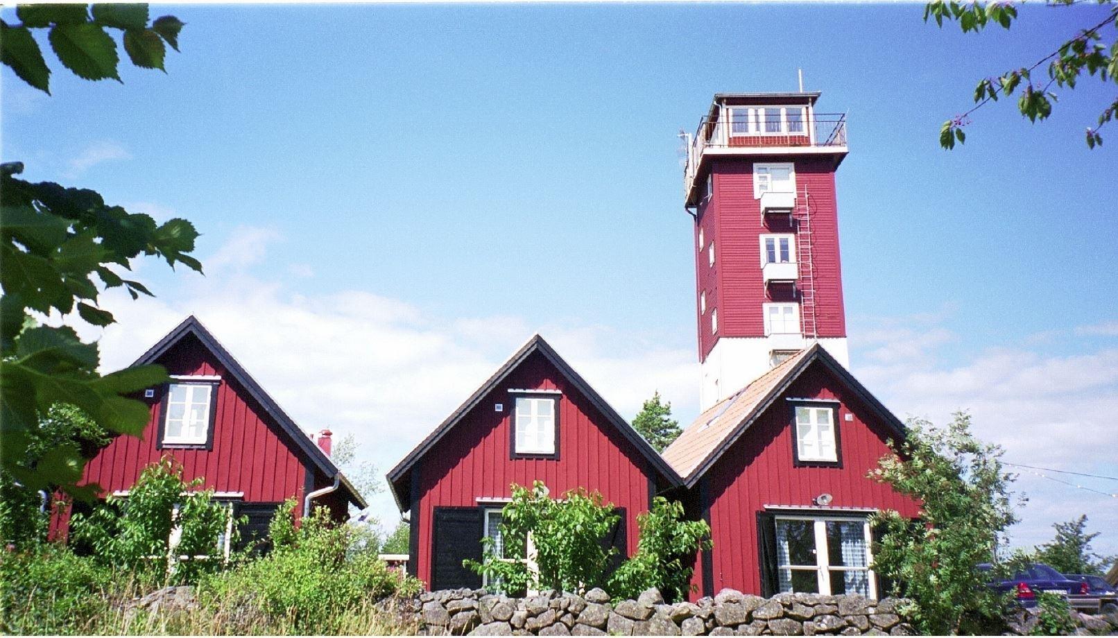 Wieża Pilotów na wyspie Aspö