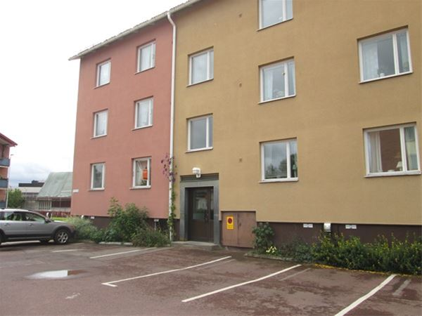 Vasaloppet. Private flat M14. Millåkersgatan, Mora