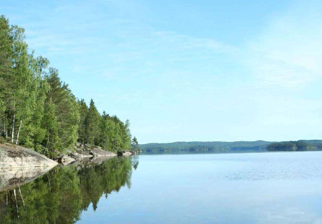 Sjön Stora bör i Årjäng Värmland
