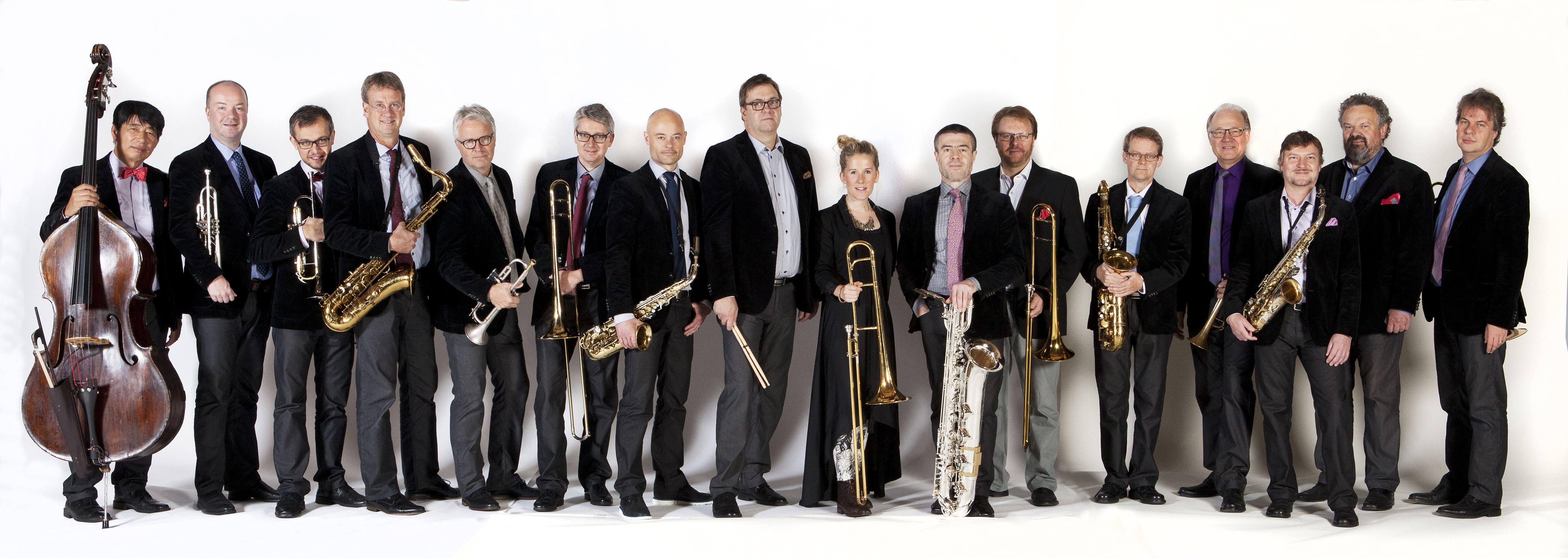 Bohuslän Big Band med Erik Gullbransson - 24 okt i Norrtälje