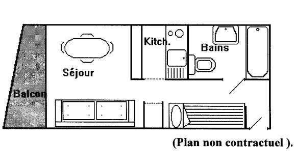 DOME DE POLSET 213 / 1 room 3 people