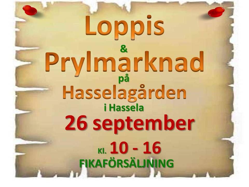 Loppis & Prylmarknad i Hassela