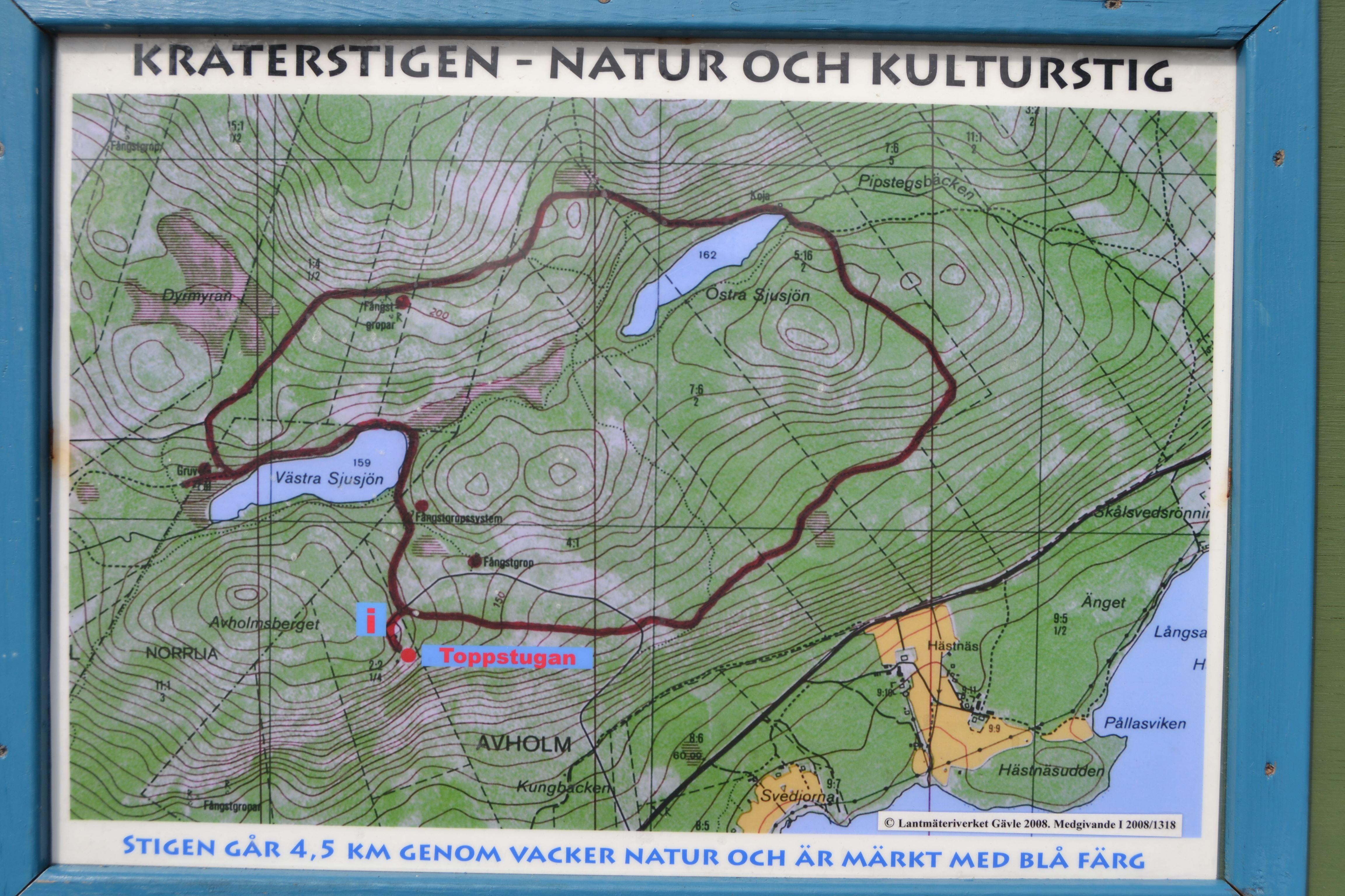 Avholmsbergets natur & kulturstig