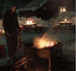 Eldkvällar på Högbo Bruk