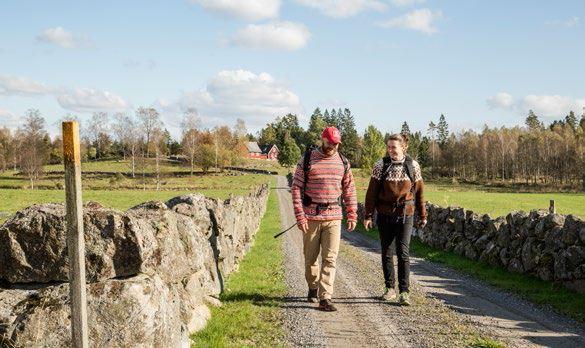 Wanderung von Bauernhof zu Bauernhof