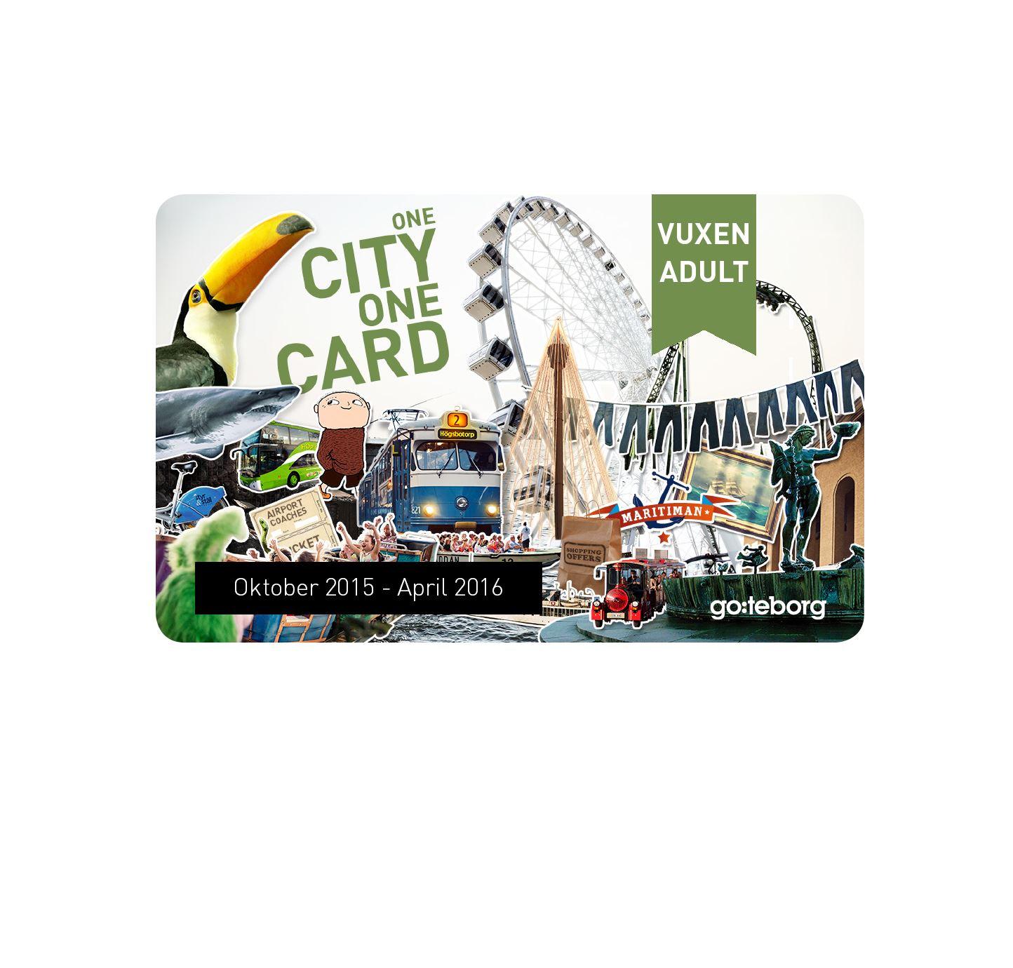 Göteborg City Card Lågsäsong 48h