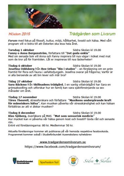 Föreläsning - Klas Sjöberg