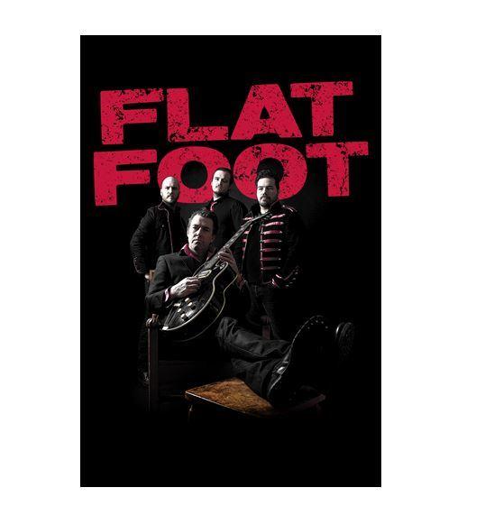 FlatFoot_Press14_FotografHeléne_logga_stående, Flat Foot - Rock Night @ Flow