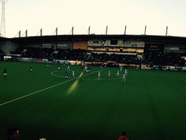 Gefle IF match Gavlevallen