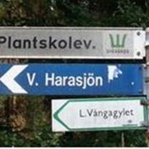 Vilshult, Nyteboda-Arkelstorp-Plantskolevägen
