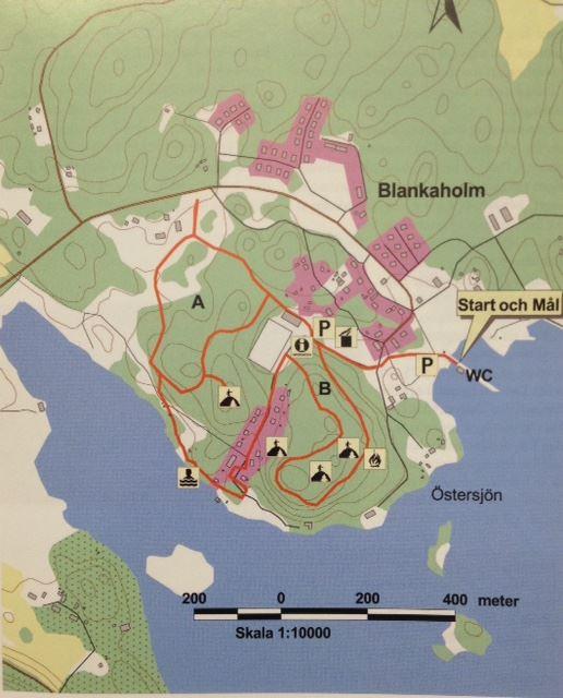 Blankaholmsslingan - Die Blankaholm Schleife