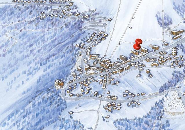 2 pièces 4 personnes skis aux pieds / OURSE BLEUE 408 (montagne de charme)